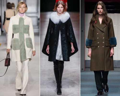 Модные пальто – зима 2016