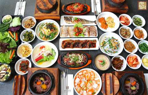 Овощи на корейском столе, как правило, предлагаются в квашеном виде