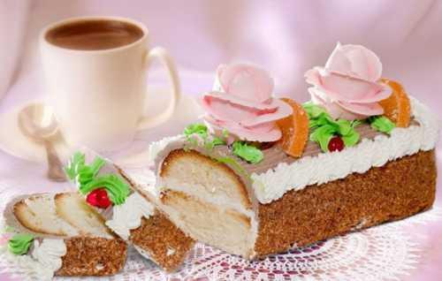 Медовый овсяный десерт можно готовить сдобавлением ряженки