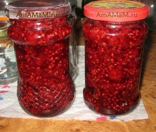 Малина, перетертая с сахаром на зиму: рецепт приготовления