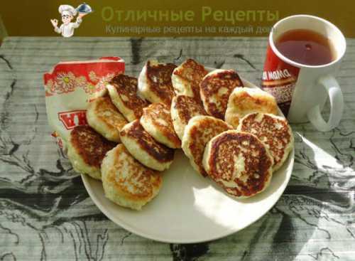 Пошаговый рецепт сырников из творога,  секреты