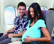 Можно ли во время беременности летать на