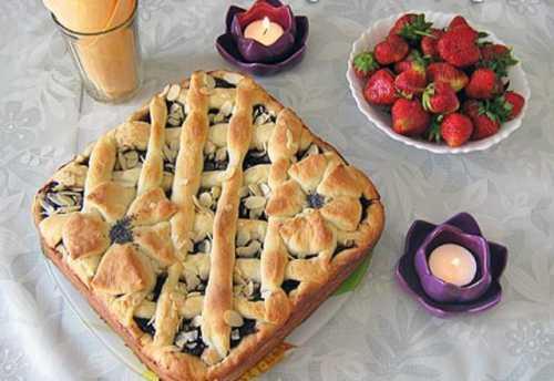 Рецепты пирога с яблочным повидлом, секреты