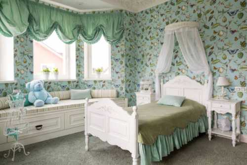 Комната для маленькой принцессы Особенности обустройства детской для девочки