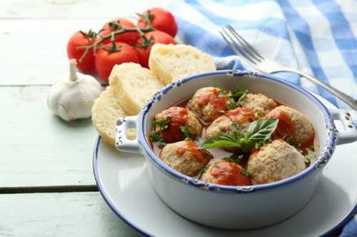 Рецепты фрикаделек с томатным соусом, секреты