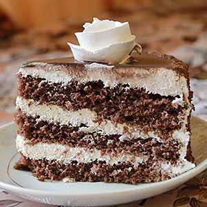 Рецепты шоколадного бисквитного торта, секреты