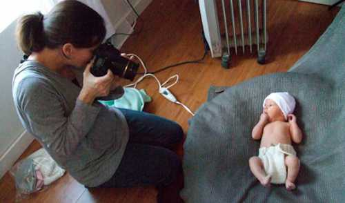 Как устроить фотосессию новорожденного