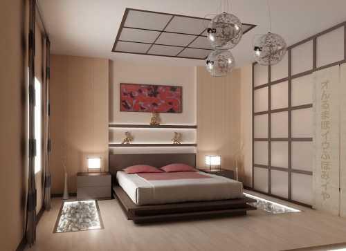 Цвета в оформлении спальной комнаты прежде всегодолжны соответствовать ее размерам