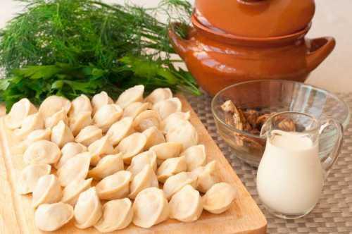 Важно, чтобы пельмени не содержали жирного мяса