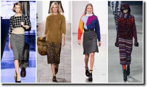 Нынешние модные тенденции очень порадуют тех, кому хочется откорректировать верхнюю часть