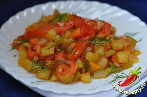 Рецепты овощного рагу с кабачками и картошкой,