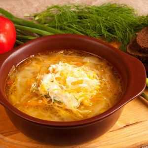 Рецепты постных щей из свежей капусты: секреты