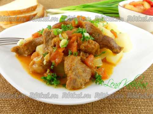 Рецепты поджарки из свинины с подливкой: секреты