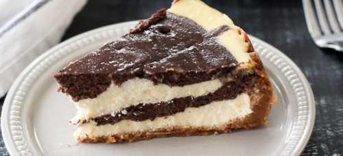 Шоколадный чизкейк классический и без выпечки