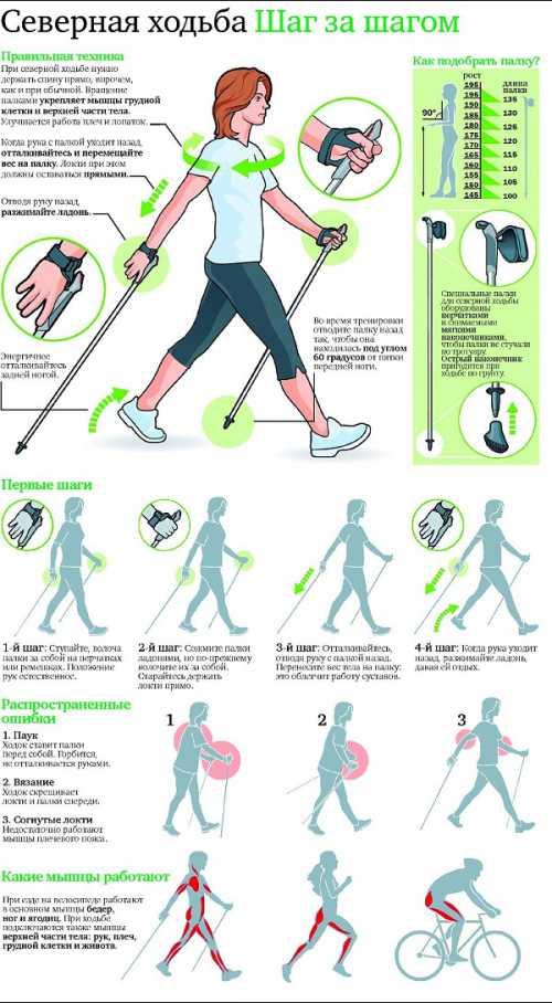 Как и любой вид физической активности, нордическая ходьба имеет также и свои противопоказания