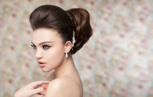 Причёска с начёсом фото: виды укладки,