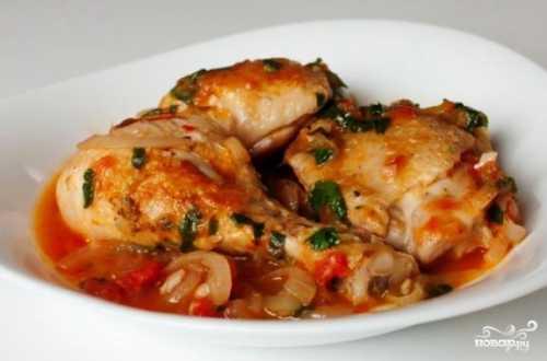 Пошаговый рецепт чахохбили из курицы,  секреты