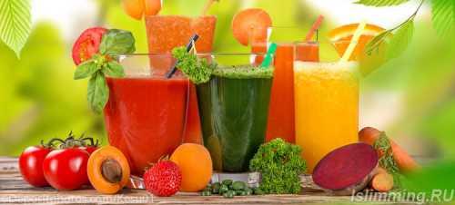 Питьевая диета на 30 дней , меню, напитки,,  как