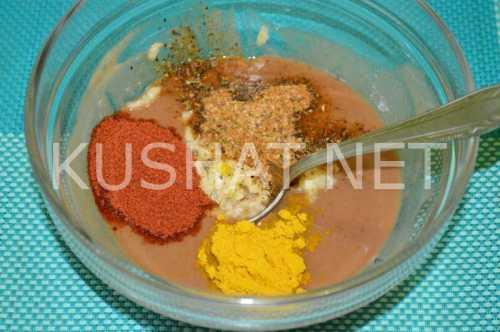 Маринад для курицы с соевым соусом, медом и горчицей