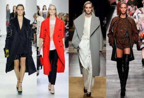 Если вы более свободны в выборе одежды для работы или учебы, вам можно примерить пальто поуже и покороче с жакетным фасоном