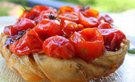 Капрезе посицилийски, Дима, Помидоры кг, Оливковое масло по вкусу, Морская соль по вкусу, Прованские травы по вкусу
